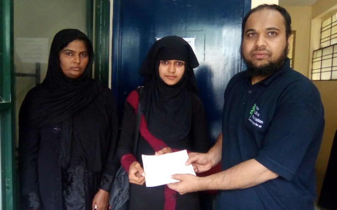 Lifeline foundation helps Seema Orphan in continuing Education