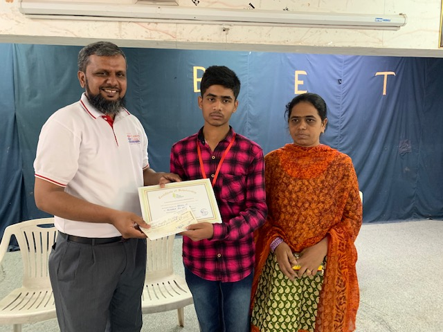 July 2019 –Lifeline Scholarship Drive awards Rs 2.15 Lakhs to 52 deserving Students