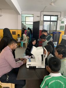March 2019: Free Eye Check-up Camp for 140 School Children