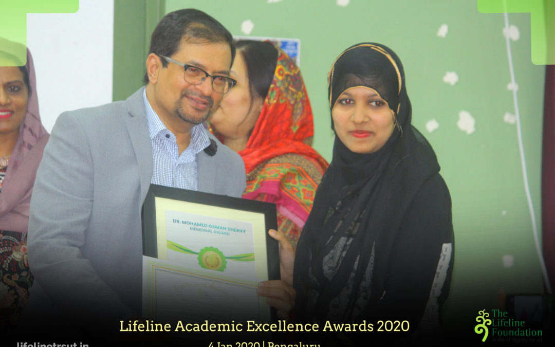Jan 2020 – 26 Students awarded with Lifeline Academic Excellence Awards