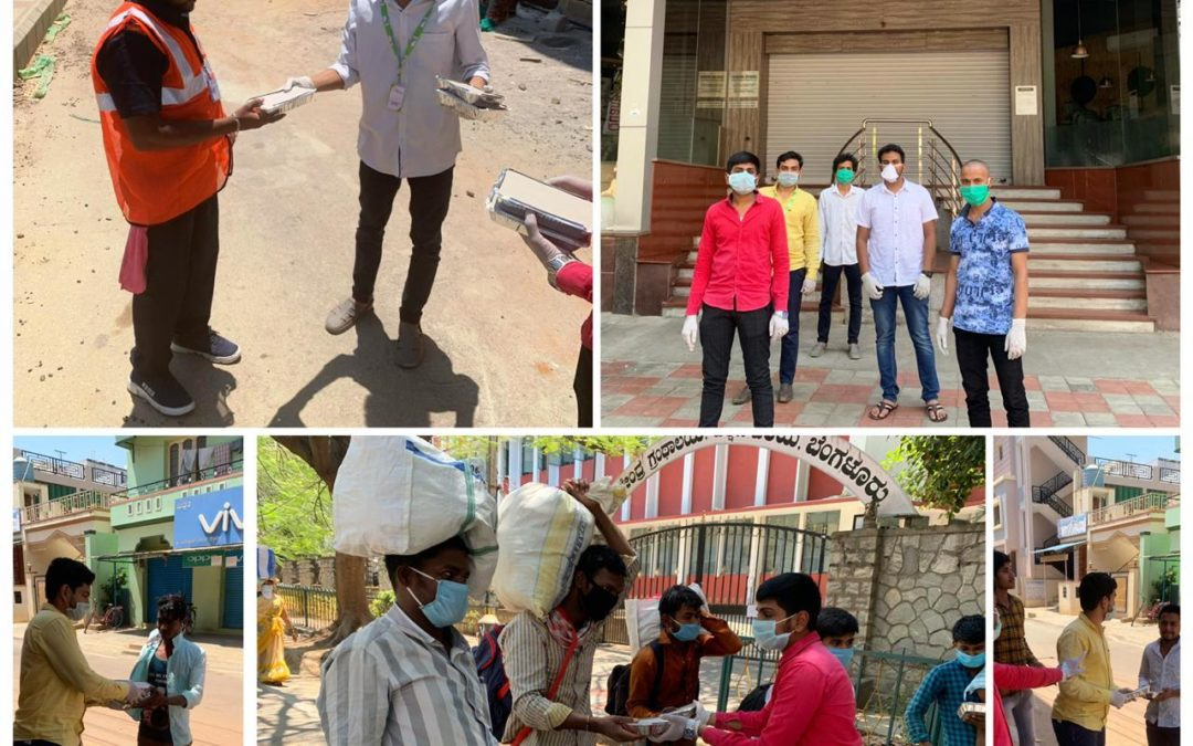 31st March 2020 – Lifeline distributed 100 food packets Migrant Laborers and Metro Construction Workers