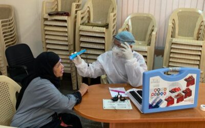 Oct 2020 – Two free health camps benefitting 143 patients was organized on Q2