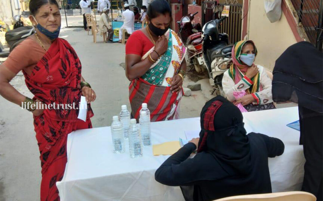 Nov 2020 – Lifeline organizes its 38th Health Camp to celebrate Karnataka Rajyotsava