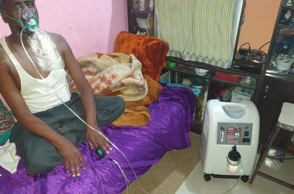 May 2021 – Lifeline is operating Oxygen Concentrators lending services free of cost in the slums