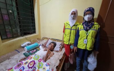 April 2021 – Lifeline team provided home treatment support for 37 Covid Patients