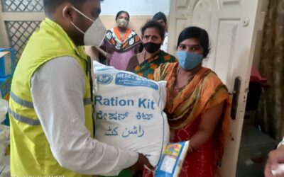 April 2021 – 4,226 ration kits worth were distributed by Lifeline in Q1