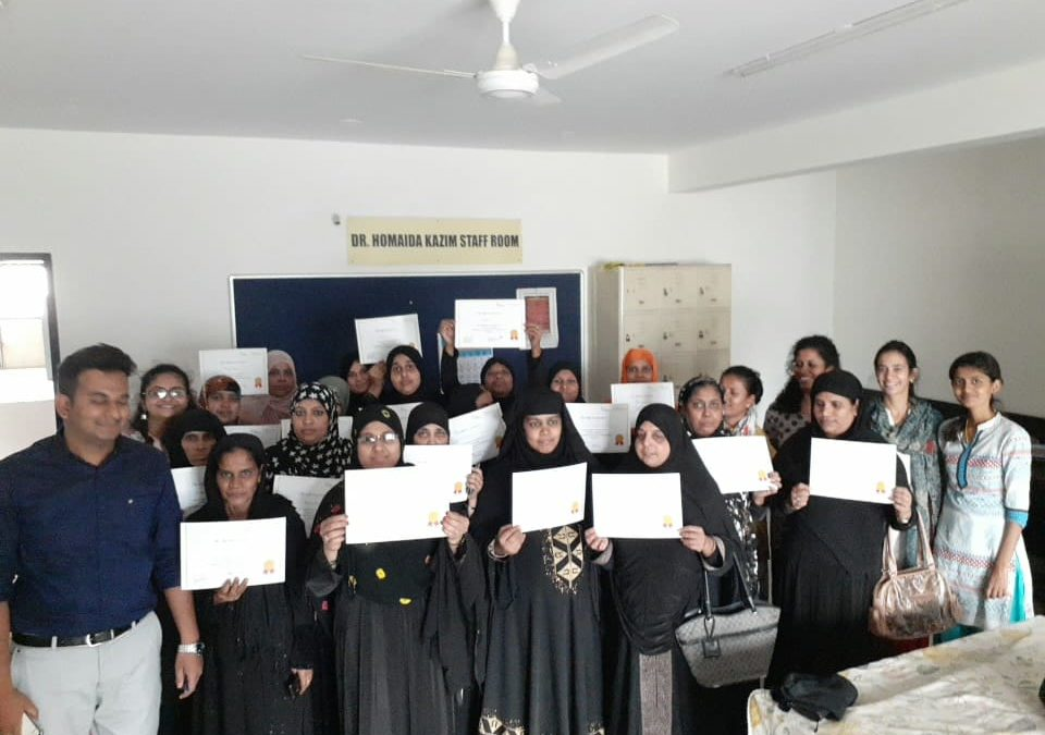 July 2019 –Lifeline celebrated the success of 100 ladies graduated from its Entrepreneurship Development Training (EDT) programme with Udhyam