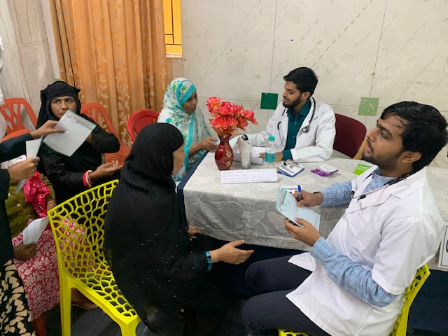 September-2019 Free Multi-Specialty health Check-up Camp benefiting 900 patients
