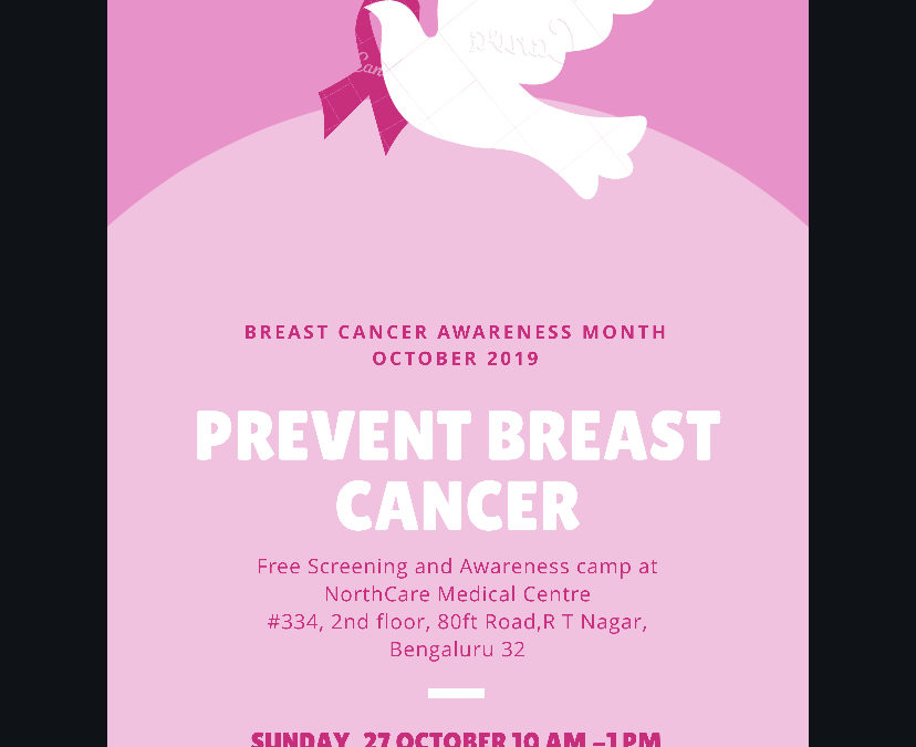 October 2019- Breast Cancer Awareness campaign