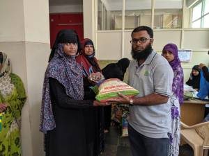 May 2019: Ration Kit Distribution of Rs 3.92 lakhs in Ramadhan 2019