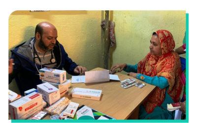 Feb 2020 – Clinic on wheels an initiative by HBS Hospital at Kavalbyrasandra