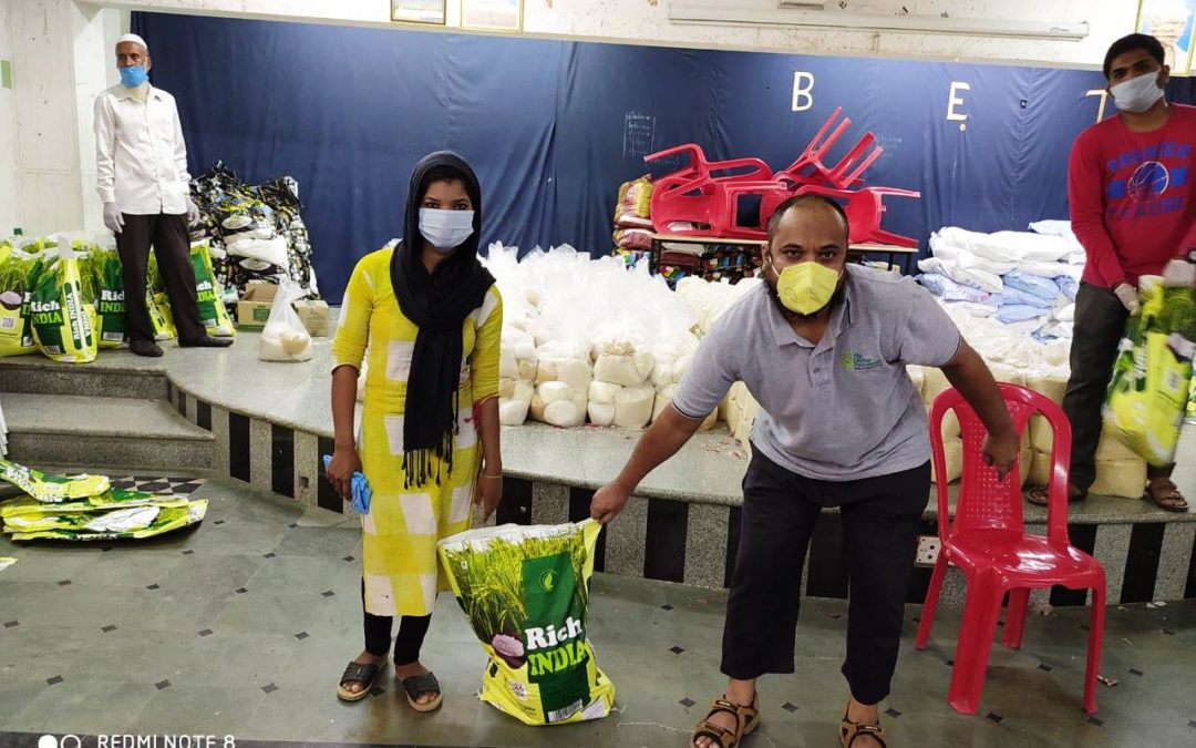 May 2020- 14 dry ration kits have been distributed to the migrant laborers
