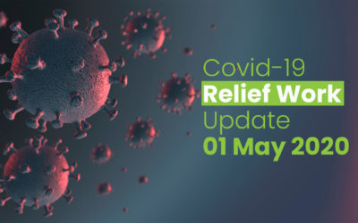 May 2020 – Updates of Covid-19 Relief work till May 01 2020