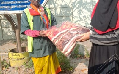 Dec 2020 – Warm Touch – An initiative to distribute blankets to the homeless, dialysis patients and pourakarmikas