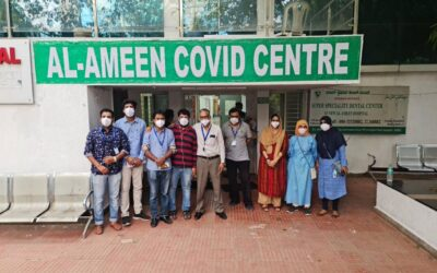 May 2021 – Lifeline staff involved in operating the Al Ameen Covid Centre